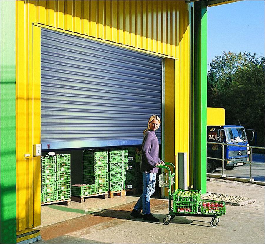 A Teckentrup redőnykapu ideális megoldás raktárak lezárására